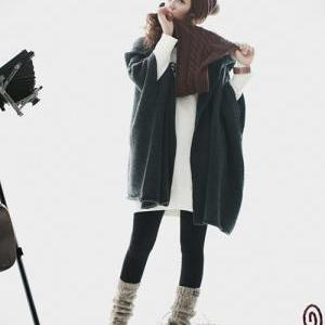 Autumn ,Winter Wool Cardigan for wo..